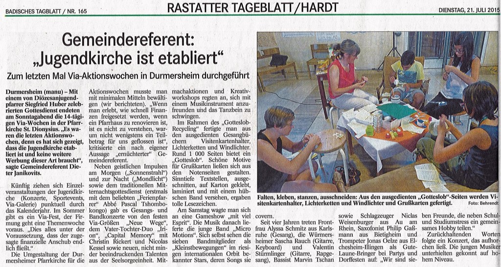 Via-Presseschnipsel 2015_BT150721