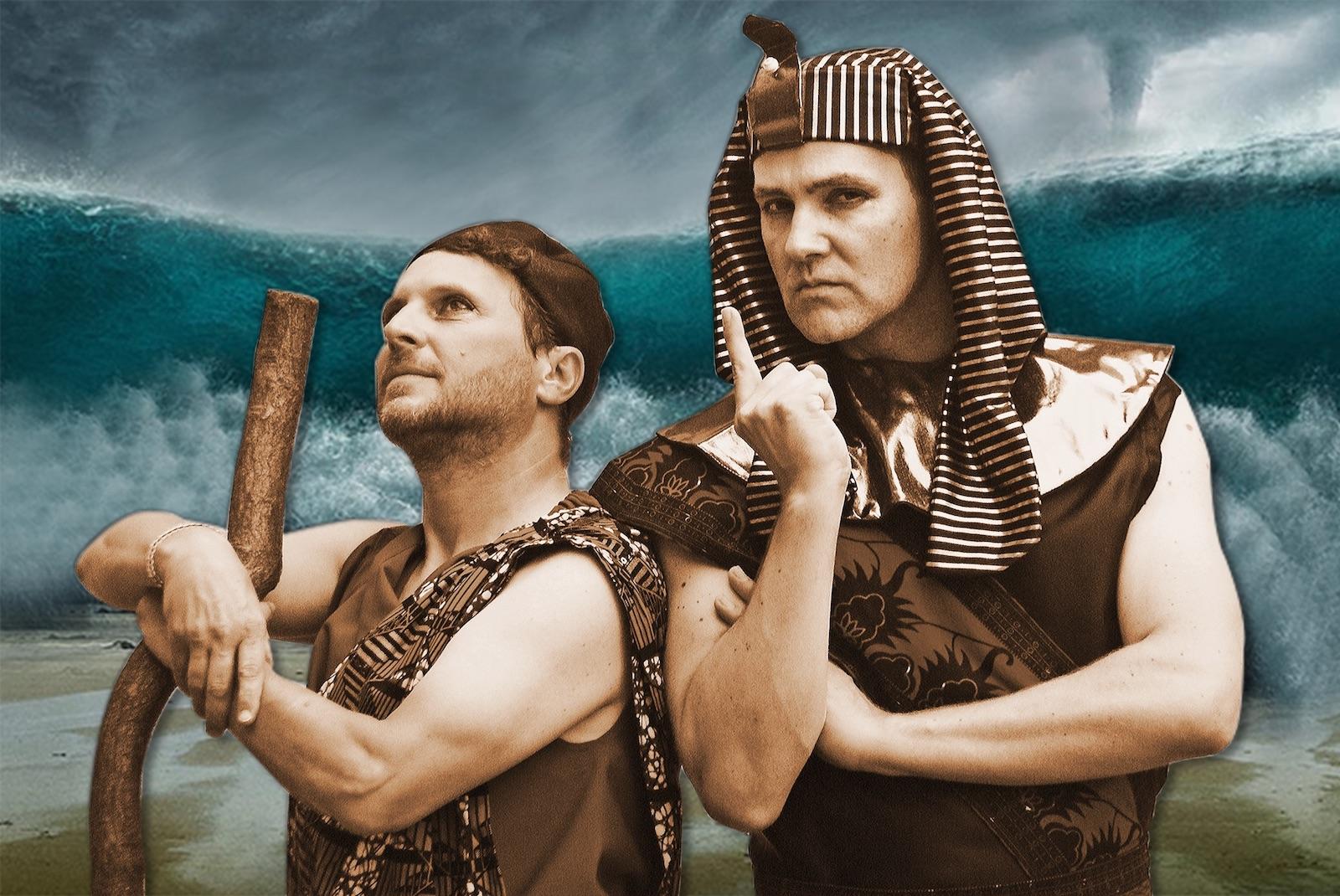 Moses Musical Pressefoto mit Frank Maier und Joe Sortine