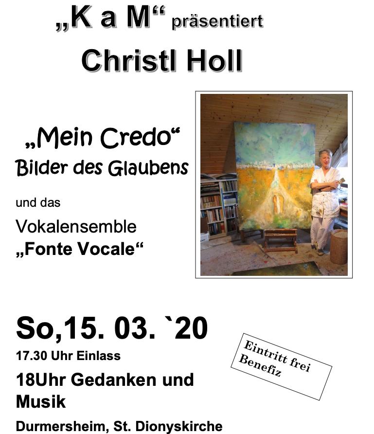 KaM mit Christl Holl